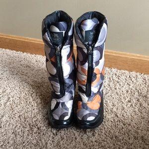 Coach Winter/snow boots size 6.5M